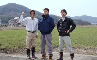 農家さんと農ログメンバーの集合写真