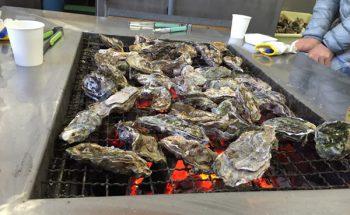 忘年会を開催しました!牡蠣が最高においしかったです