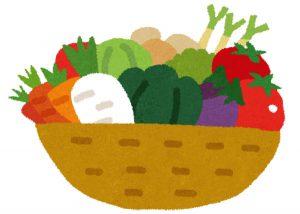 有機野菜のイラスト