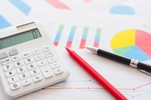 補助金の金額を計算する電卓