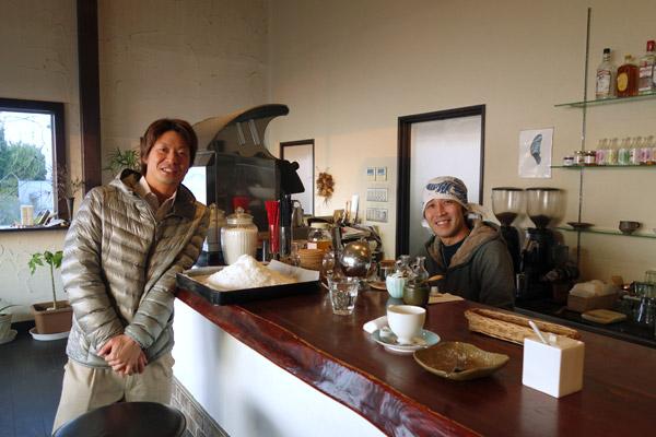 cafe de flotsさんと農ログ原