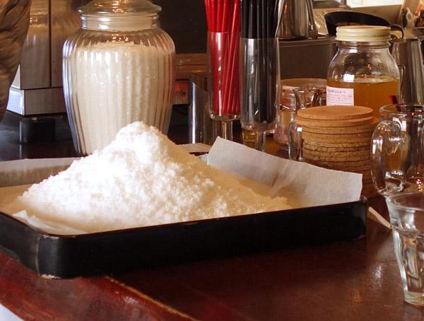 cafe de flotsさん手作りの塩