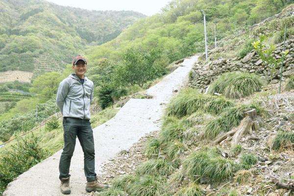 香川のこだわりみかん農家D's farmの大西さん
