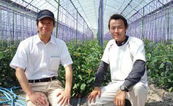 顧客を大切にする姿勢に共感!村上トマト農園さんとの打合せ
