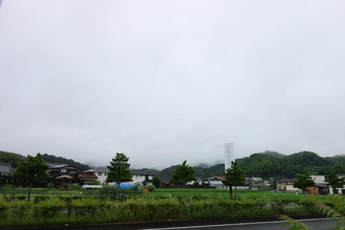 雨の日の香川県