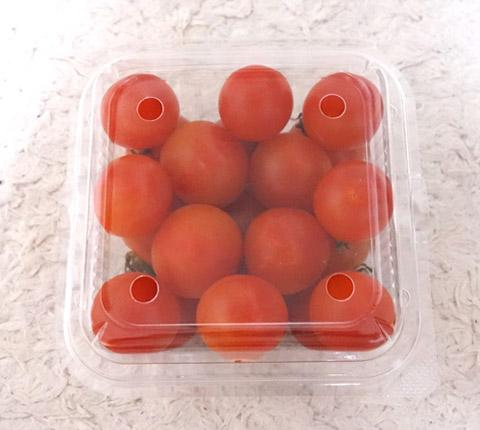 商品化前のミニトマト