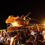 地元の祭り、仁尾竜まつりをお手伝い!