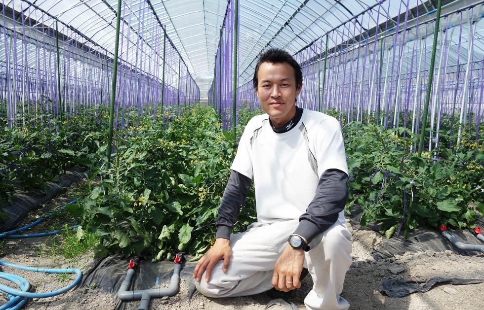 笑顔の村上トマト農園さん